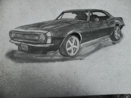 Chevy Camaro SS by galis33