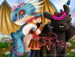 Flower Crowns and Dragon Riders by reikohattori