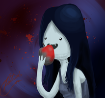 Marceline The Vampire Queen by MidoriFlygon