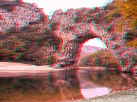 Vallon Pont d'Arc 3D by JoelRemy222