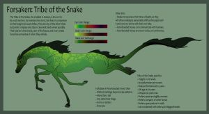 Forsaken: Tribe of the Snake by Everland-Stables