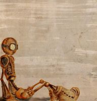 steampunk robot sketch by Salix-Tree