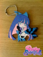 Stocking keychain 2 by Clare-Sparda