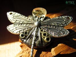 Dragonfly brooch by SuvetarsWell