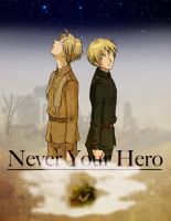 Never Your Hero Cover Art by ScarletteDiscord