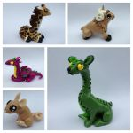 Clay critters *For Sale* by blondbug