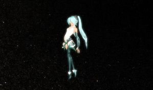 MMD Append DT Miku by willianbrasil