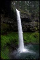 Silver Falls so silver... by chrisntheboat