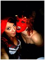 Halloween 2011 - Satan and Red by a-k-u