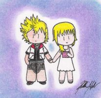 Roxas and Namine by Kchan929