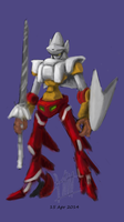 ArtFlow Progress 01: Knight-like Getta 2 by alt-L