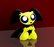 Begging Pichu by hlavco