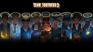 TeamFortress 2 Portrait Wallpaper by Marechal-Ecto
