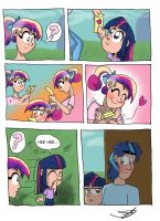 MLP - A letter for Cadance (Page 1) by RingTeam