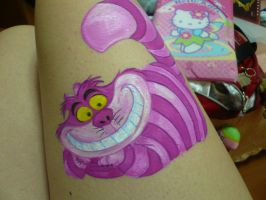 Cheshire Cat- BodyPaint by Lally-Hime