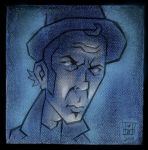 Tom Waits by williamsquid