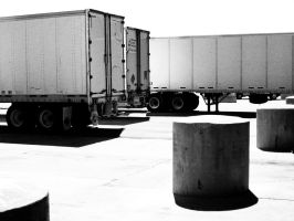 Leaving the Truckstop by VividThorn
