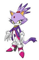 Blaze the Cat Pixel Art by Storm-the-cat