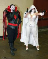 Mr. Sinister and Ghost 1 by Insane-Pencil