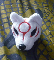 Commission: Small floppy Amaterasu WIP 2 by goiku
