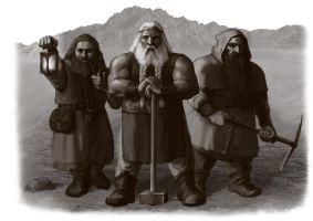 Dwarven recruits by meneldil-elda