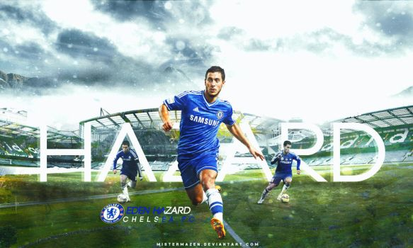 Eden Hazard Wallpaper ( CHELSEA FC ) by MisterMazen