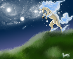 The Night of Rapidash by Nanasschevelu