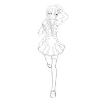 Update Yue Lineart by TruPink