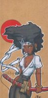 Afro Samurai GB by Animator480