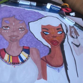 wip afro by ionona