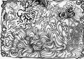 Doodle Nr.17 #The Wave by AliDraw