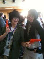 Anime Banzai 2012 Jake and Jane by Fainting-Ostrich