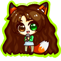{Contest Prize} LeafFox by devinaaTART