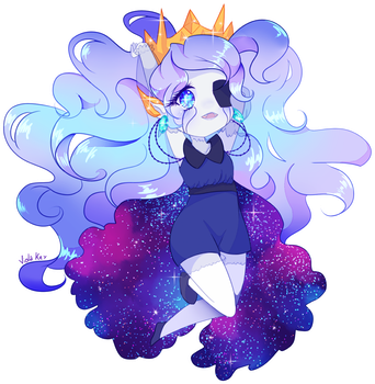 Commission 3/3 - Lovely White Void by ViolaKey