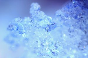 Snow close up by jagerion