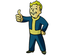 Vault boy icon by SlamItIcon