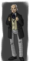 A Superior Brain: First Doctor by DeathByBacon