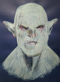 the Hobbit - Azog the Defiler by Elveariel