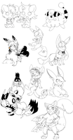 RQ: lineart reques join me by Pikachim-Michi