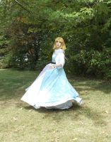 The Princess Zelda - A Link to the Past by LittleMarin