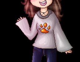 serenadinglove animated pixel *Commission* by QueenBirb
