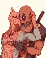 Spideypool81 by LKiKAi