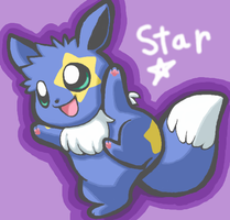 Request - Star the Eevee by drill-tail