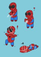 Chibi Spidey by SpenceOlson