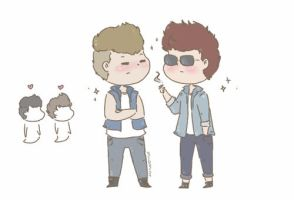 Liam and Louis by milamint