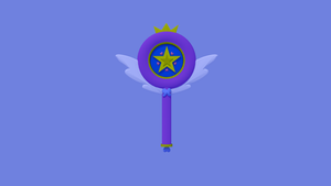 Star Butterfly's Wand by Trb25