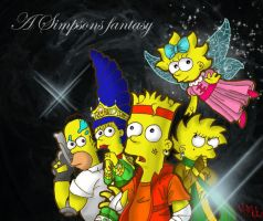 A Simpsons Fantasy by MagicMikki
