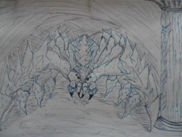 Giant Guardian Spider by SoulHound568