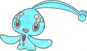 Manaphy Coloured by CoolMan666