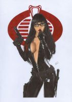 Baroness G.I.Joe 3 by TimGrayson